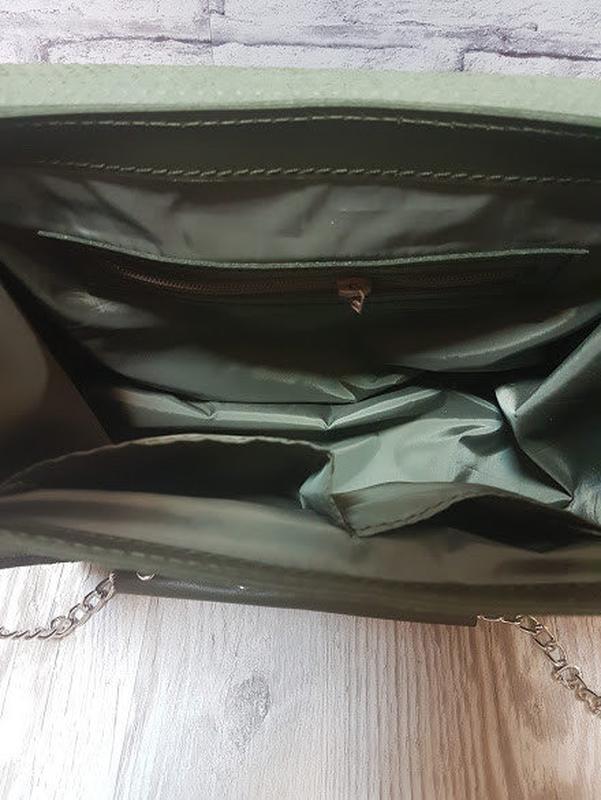 Сумка кожаная пассаж - Фото 4