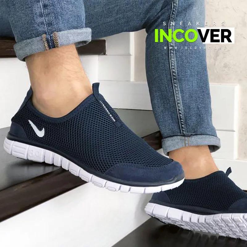 Мужские кроссовки слипоны Nike Free Run 3.0