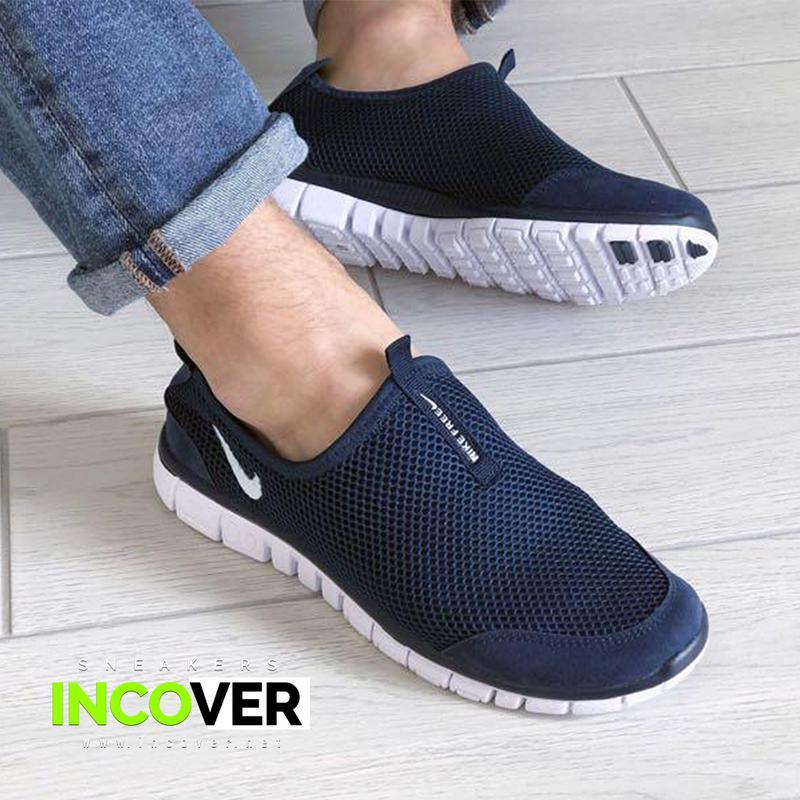 Мужские кроссовки слипоны Nike Free Run 3.0 - Фото 2