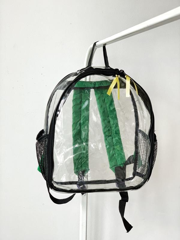 Прозорий рюкзак