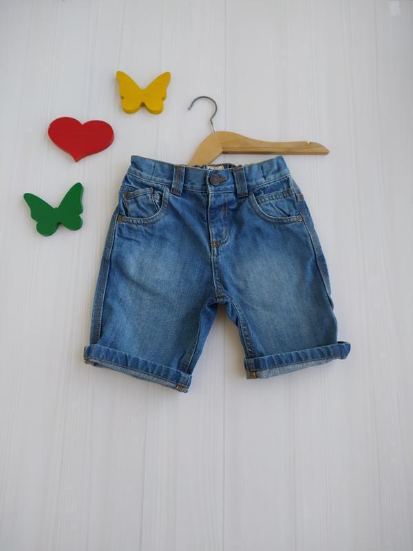 2-3 года шорты джинсовые
