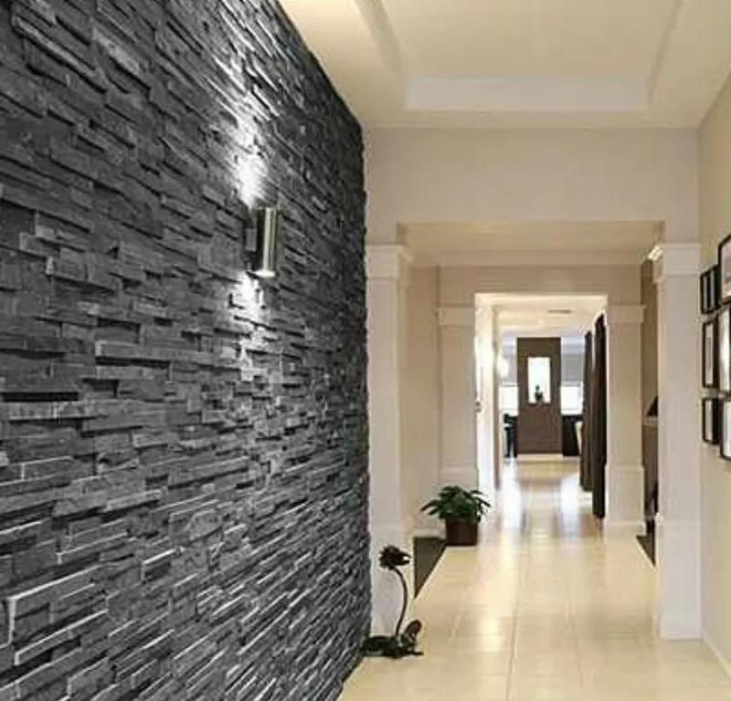 Декоративна гіпсова плитка Верона, декоративний камінь, цегла - Фото 5
