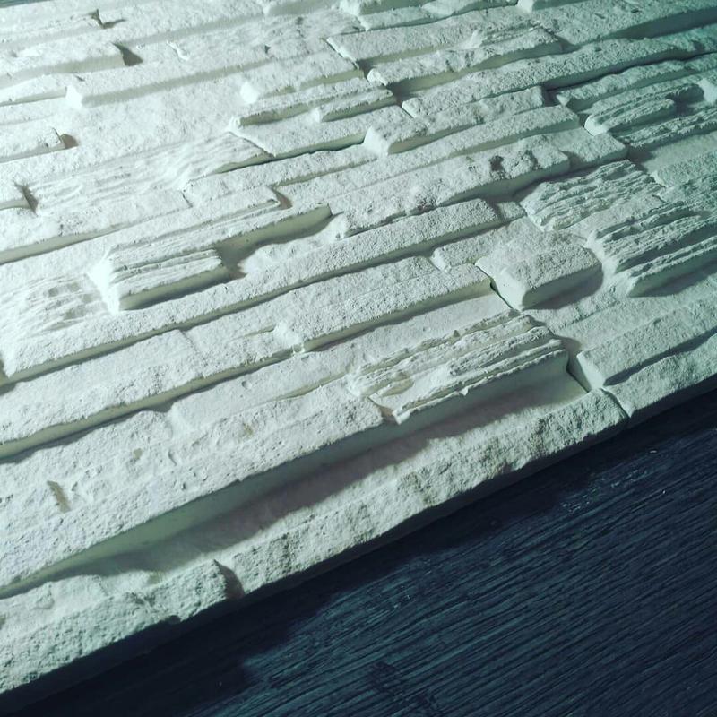 Декоративна гіпсова плитка Верона, декоративний камінь, цегла - Фото 10