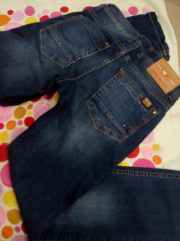 Мужские плотные джинсы - Фото 2