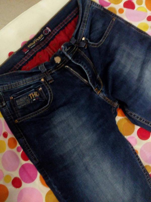 Мужские плотные джинсы - Фото 3