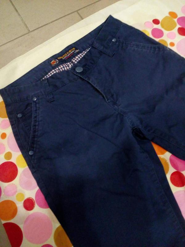 Летние котоновые мужские брюки - Фото 3