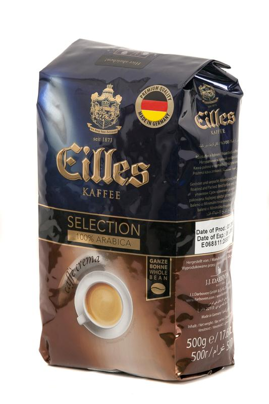 Зернова кава Eilles Caffè Crema Selection 500г