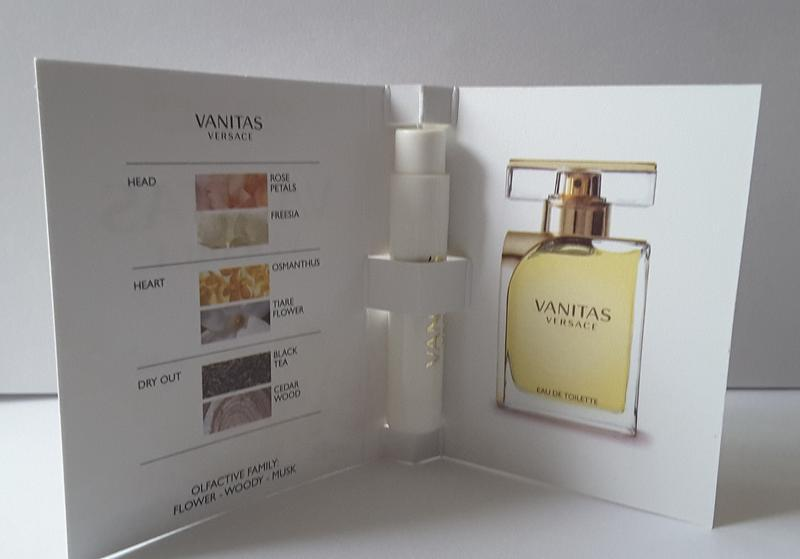 Пробник  туалетной  воды versace vanitas, 1 ml, италия - Фото 2