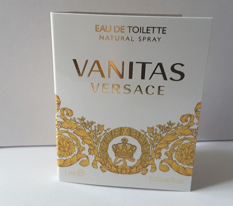 Пробник  туалетной  воды versace vanitas, 1 ml, италия - Фото 3