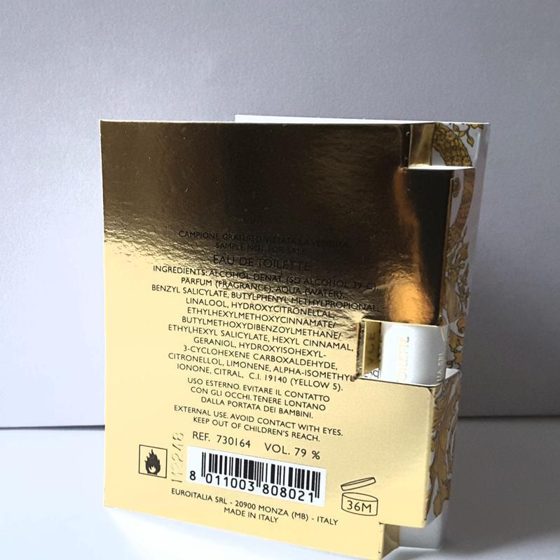 Пробник  туалетной  воды versace vanitas, 1 ml, италия - Фото 4