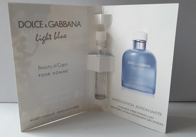 Пробник туалетной воды 1,5 мл dolce&gabbana light blue beauty ... - Фото 2