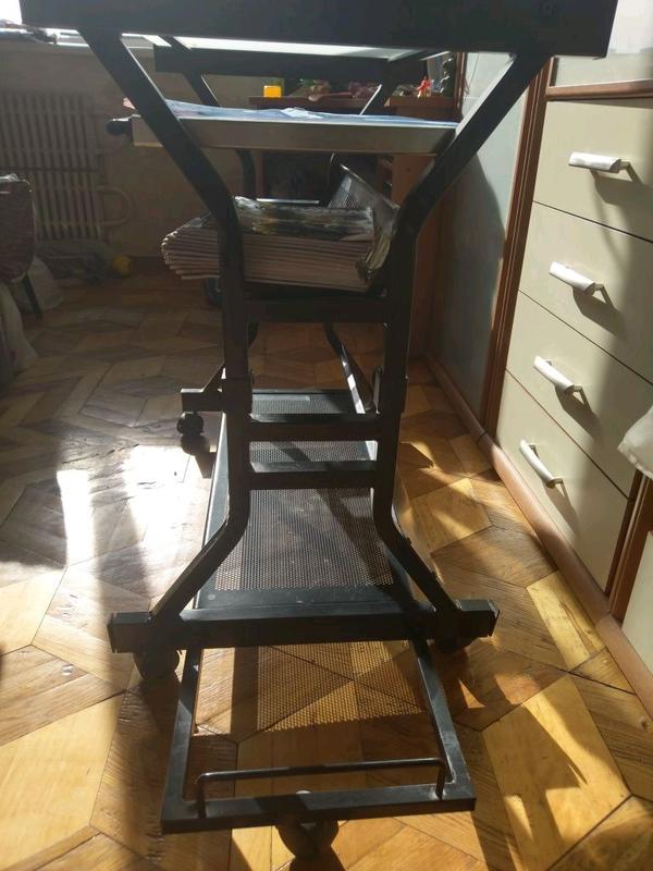 Стеклянный компьютерный стол - Фото 5