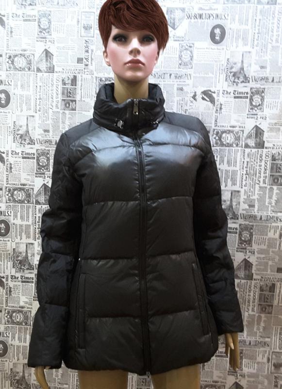 Ультрамодная куртка- пуховик geox, италия, uk 8, s, наш 42 - 44