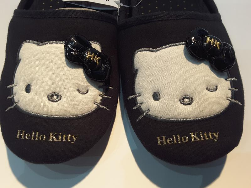 "Эксклюзивные комнатные тапочки ""hello, kitty"",40-41 р,sanrio,я..."