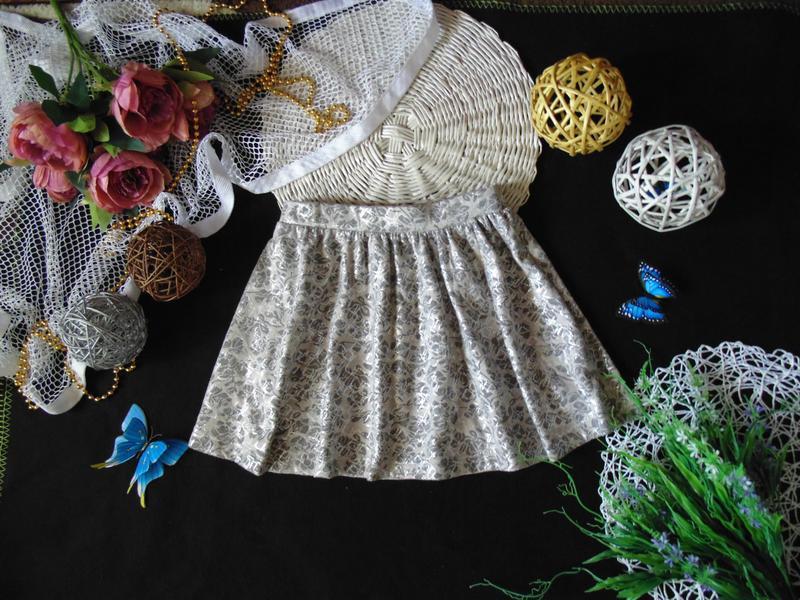Стильная нарядная юбка f&f