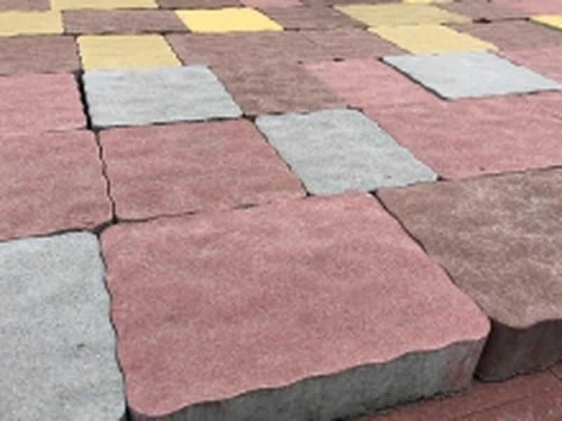 Услуга по укладке тротуарной плитки