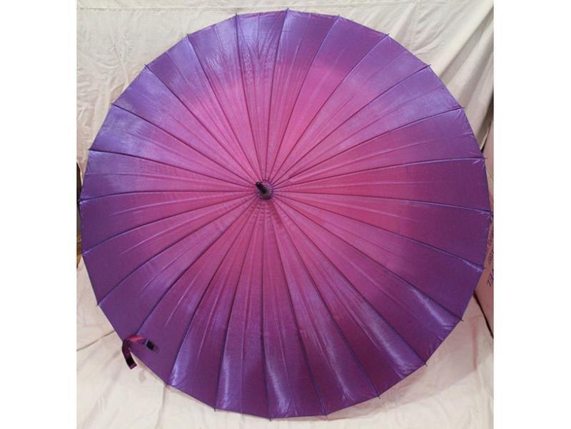 Механический женсктй зонт хамелеон на 24 спицы