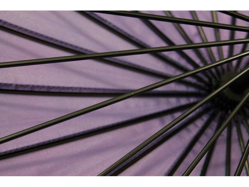 Механический женсктй зонт хамелеон на 24 спицы - Фото 4