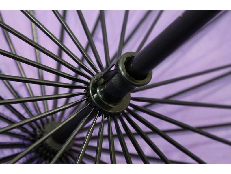 Механический женсктй зонт хамелеон на 24 спицы - Фото 5