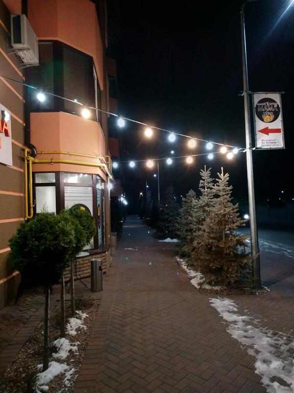 Гирлянда Из Лампочек Белт-Лайт (Belt Light E27) Уличная - Фото 5