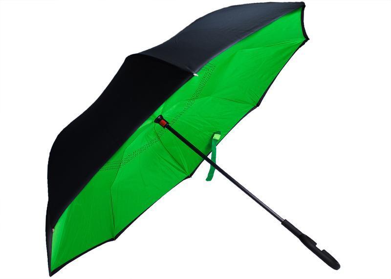 Зонт - наоборот автоматический умный зонт