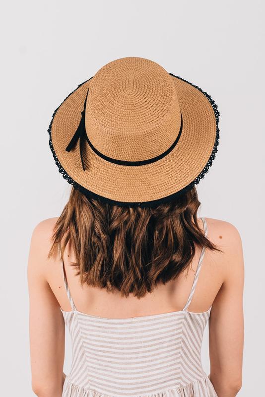 Шляпа женская летняя - Фото 4