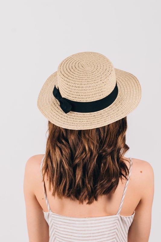 Шляпа летняя женская - Фото 5
