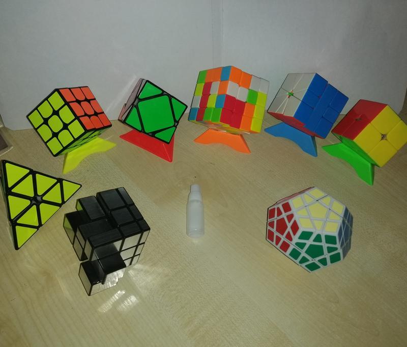 Крутые кубики рубики!