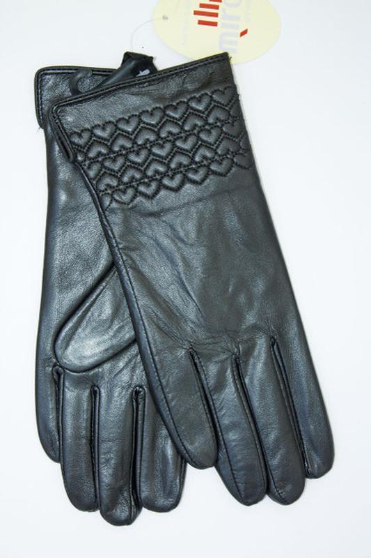 Перчатки женские, зима, натур. кожа.