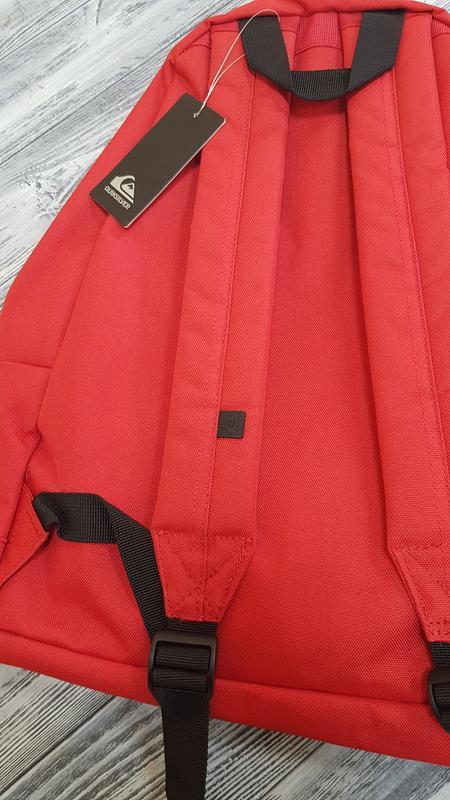 Мужской городской рюкзак quiksilver  18л красный оригинал - Фото 3