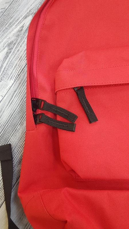 Мужской городской рюкзак quiksilver  18л красный оригинал - Фото 4