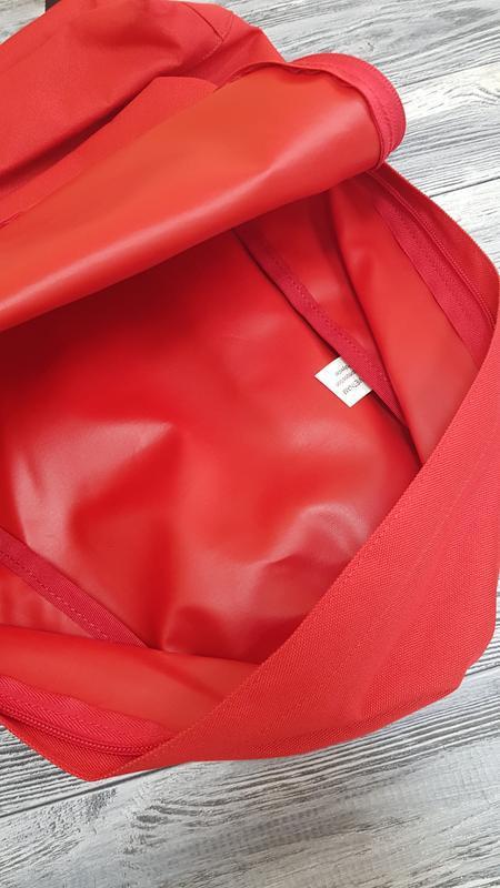 Мужской городской рюкзак quiksilver  18л красный оригинал - Фото 5