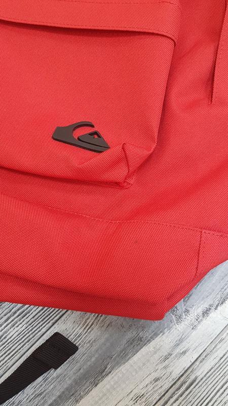 Мужской городской рюкзак quiksilver  18л красный оригинал - Фото 7