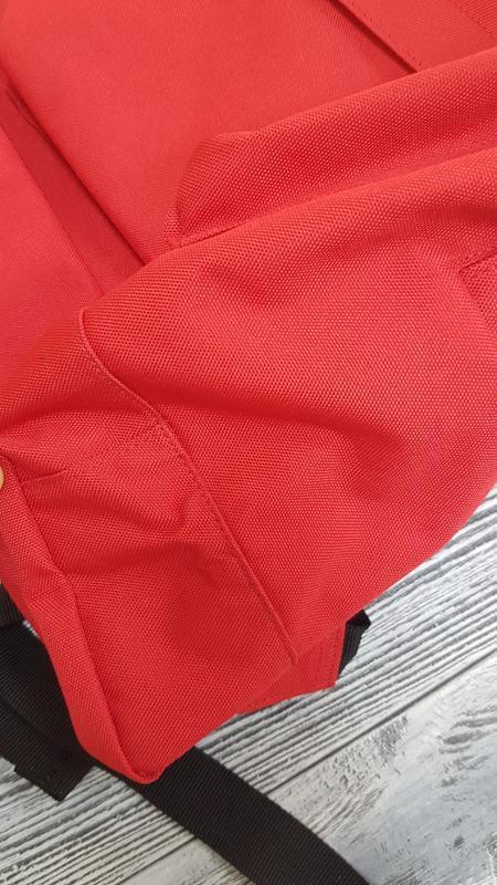 Мужской городской рюкзак quiksilver  18л красный оригинал - Фото 8