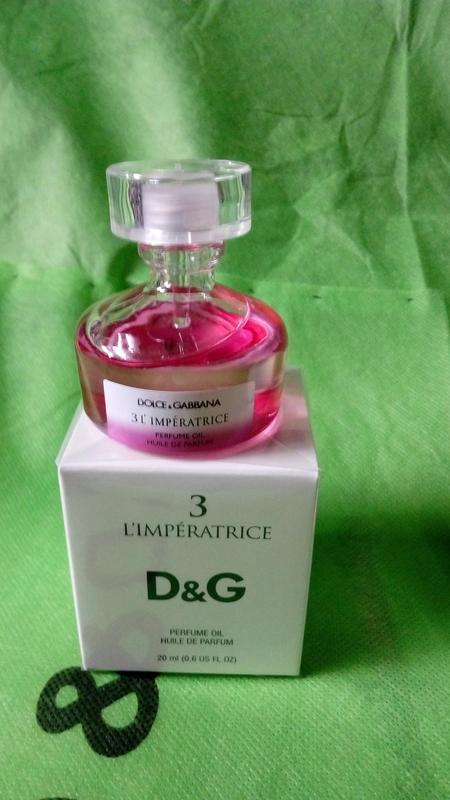 Dolce & Gabbana L`imperatrice 3  huile de parfum original Масло