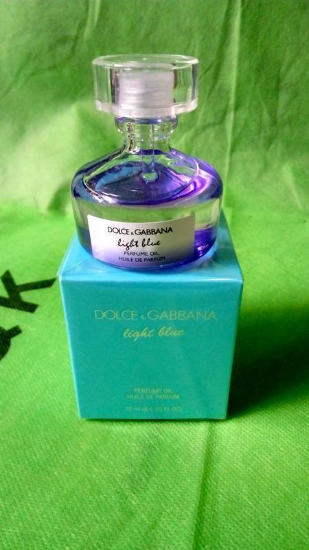 Dolce & gabbana light blue huile de parfum original refillis'2...