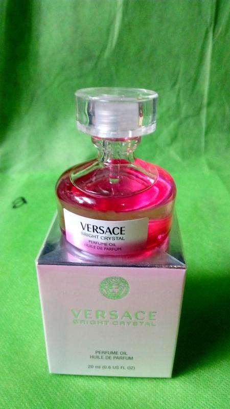 Versace _bright crystal _huile de parfum original refillis' 20...