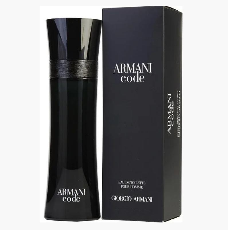 Мужская туалетная вода Giorgio Armani Code черная коробка 100 мл