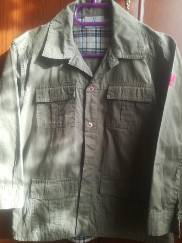Рубашка для мальчика р 110 см