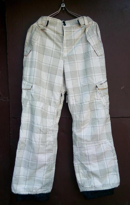 Лыжные штаны зимние брюки в клетку rehall мембрана