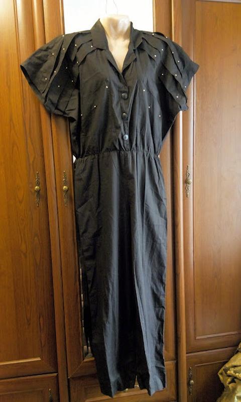 Комбез комбинезон летний коттоновый с клепами карманами тонкий...
