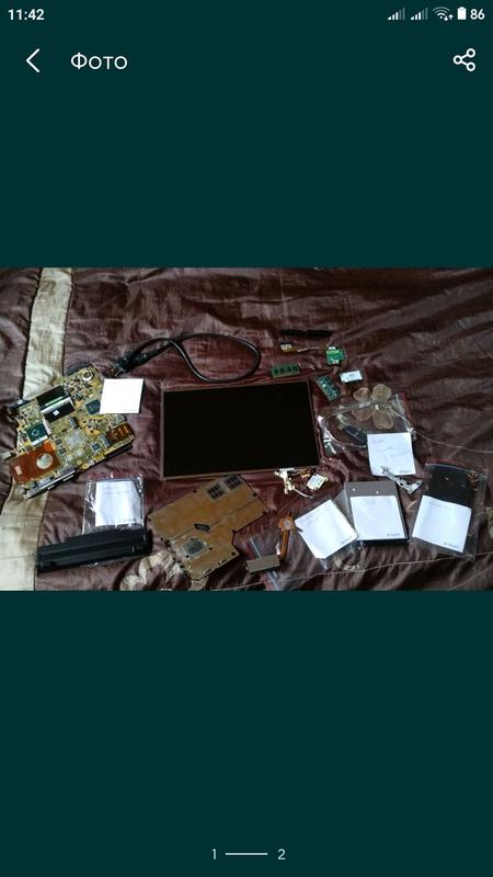Продам запчасти ноутбук asus m51s: