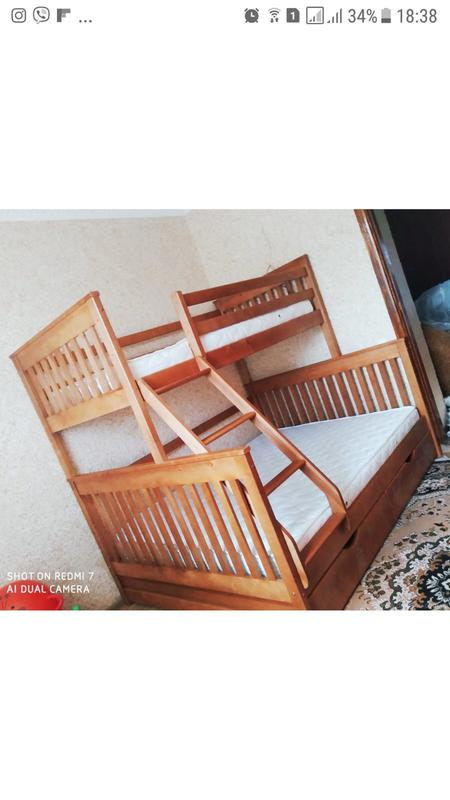 Семейная кровать Жасмин с ящиками. - Фото 10