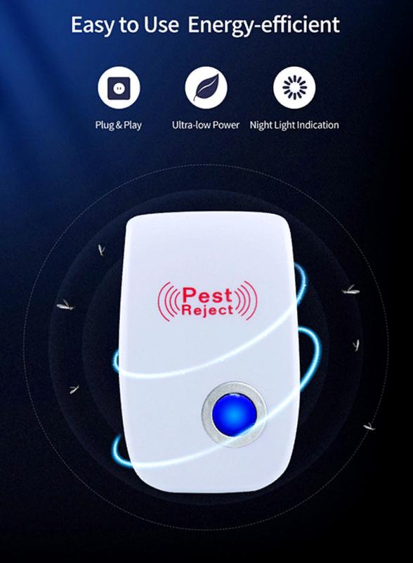 Электромагнитный и ультразвуковой отпугиватель насекомых и грызун