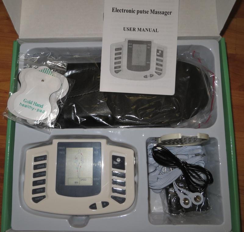 Массажер - Миостимулятор для всего тела и ног Электростимуляция