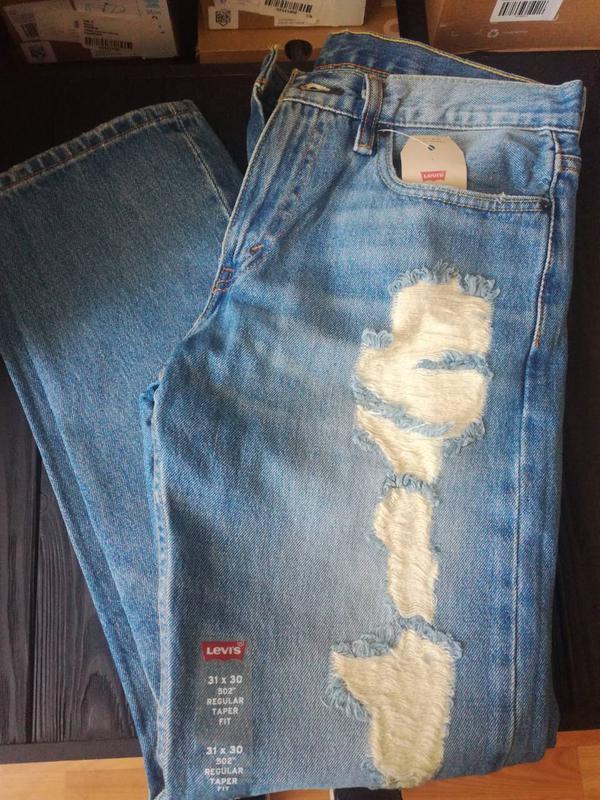 Штаны отличного качества от бренда levis (501 cт) 100 % оригинал - Фото 2