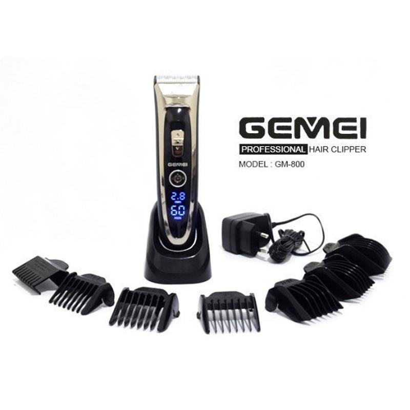 Машинка для стрижки волос Gemei - Фото 2