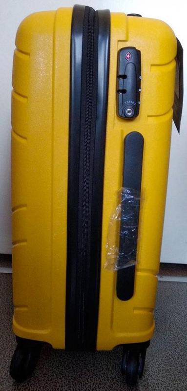 Чемодан пластиковый дорожный CAT Crosscheck 83546, 55 см - Фото 2