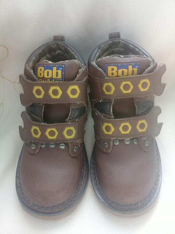 Кожанные деми ботинки/сапожки bob