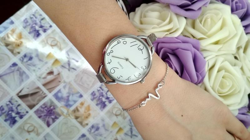 Красивые часы женские,стильний годинник, оригінальні цифри)!ча... - Фото 4